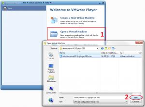 VMware abrindo Ginga-NCL