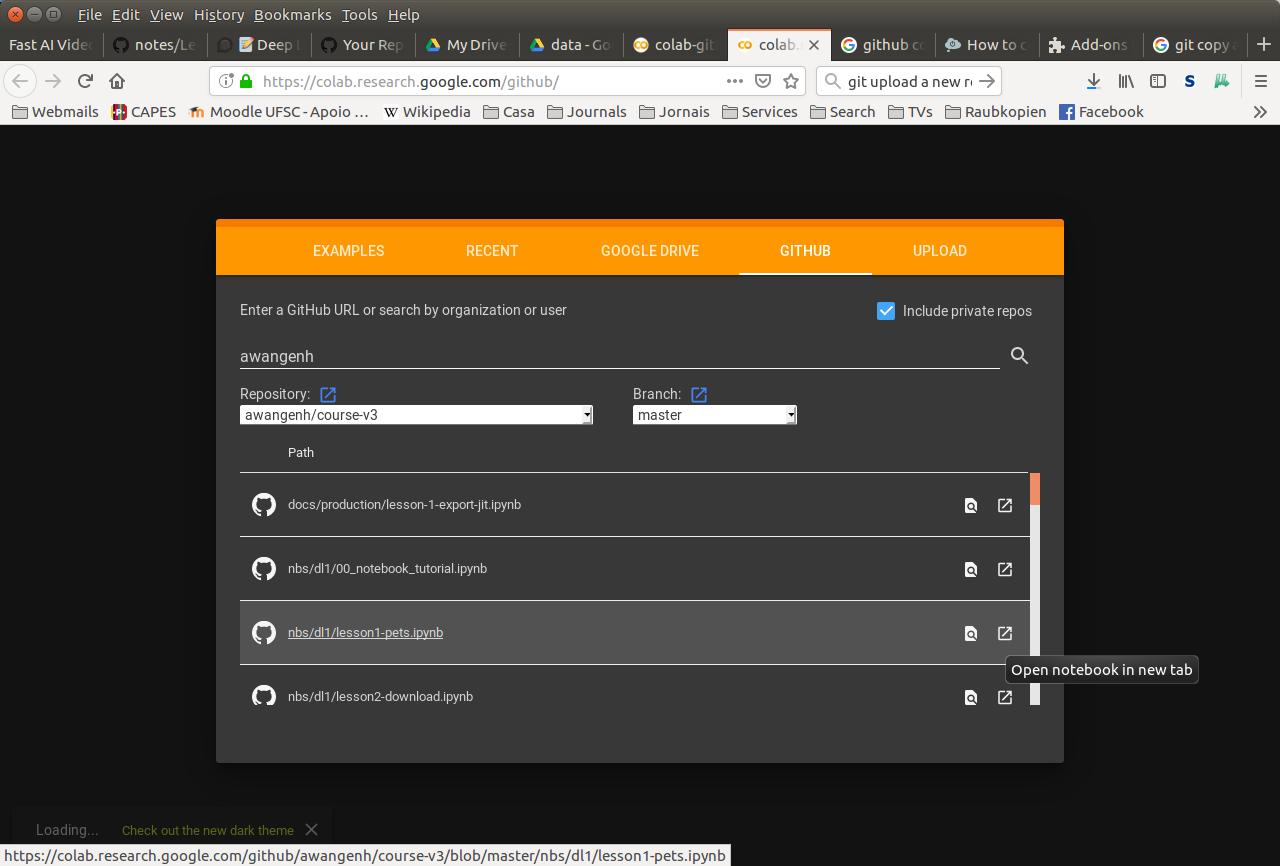 Como Importar Jupyter Notebooks de GitHub para Google Colab