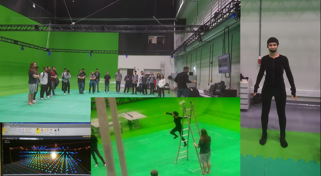 Aula de Motion Capture para a turma 2019.1 de…