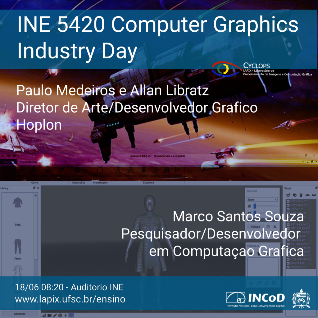 Computer Graphics Industry Day 2019 com indús…