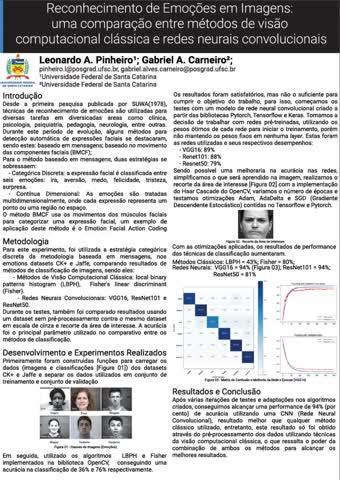 Visão Computacional - Leonardo Pinheiro e Gabriel A. Carneiro