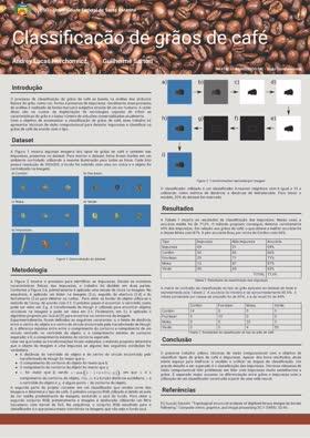 Visão Computacional - Poster - Classificação de grãos de café