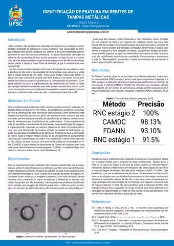 Visão Computacional - Poster_Visao_Juliano_Masson